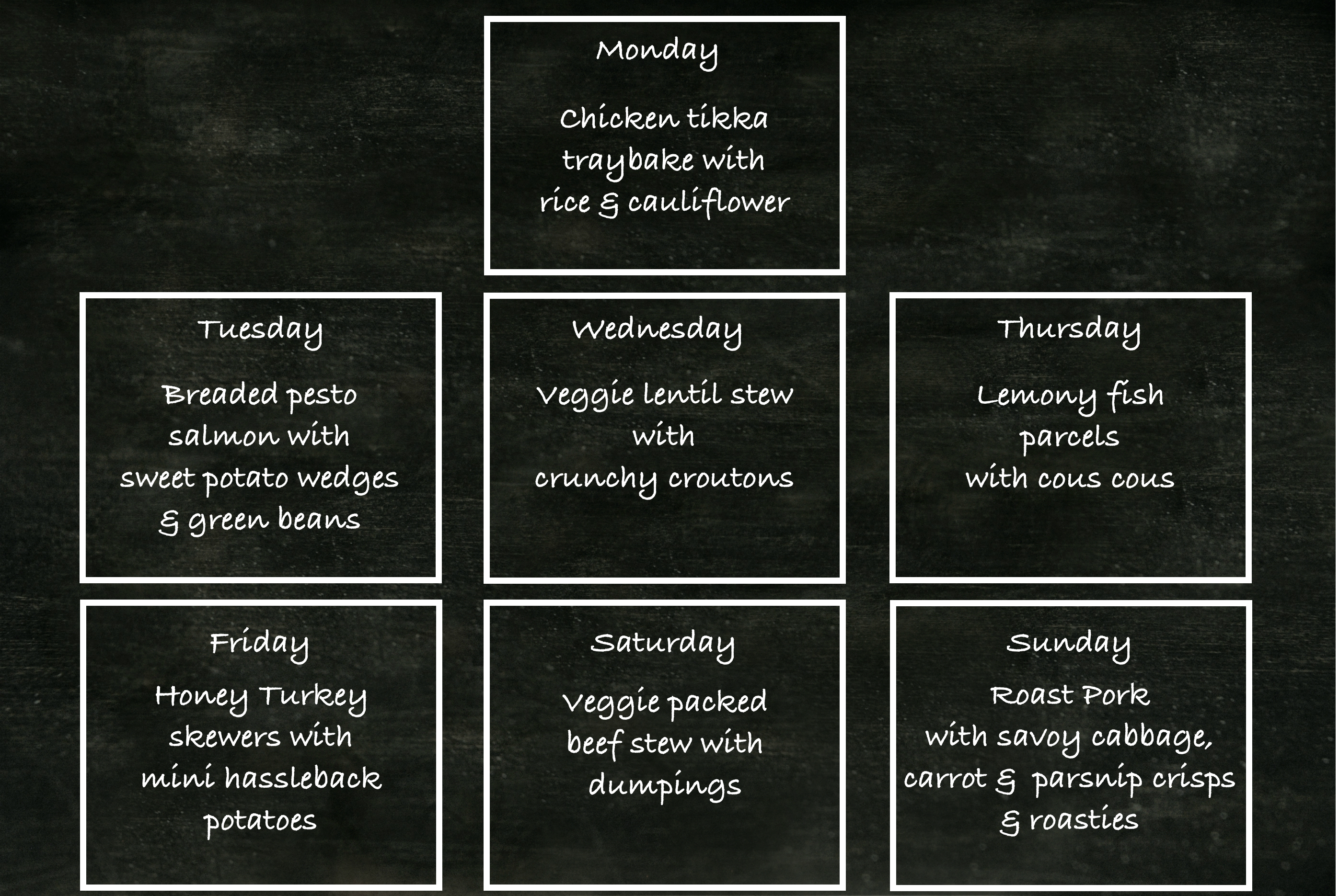 meal planner, family meal ideas, menu planning, family mealtimes, catherine lippe nutrition, registered nutritionist RNutr, Kids Nutritionist